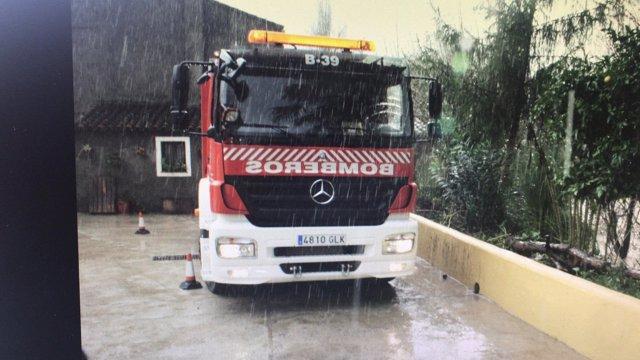 Camión de Bomberos del CPB de Málaga