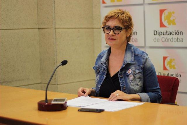 Marisa Ruz en rueda de prensa