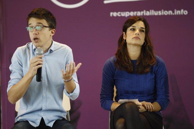 Íñigo Errejón y Clara Serra