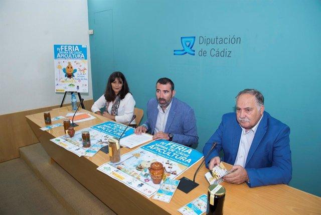 Presentación de la Feria de la Miel Sierra de Cádiz en Prado del Rey
