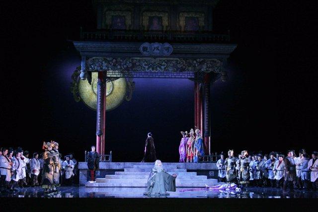Imagen de archivo de una representación anterior de 'Turandot'