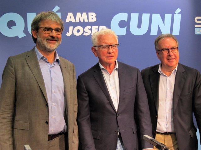 J.Serra, D.Gavela y J.Cuní