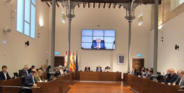 Pleno De La Diputación Provincial De Zaragoza