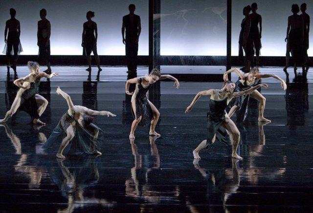 La obra de danza 'Un requiem alemán', en el Teatro Real