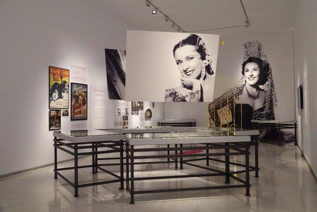 Exposición sobre Imperio Argentina en Ars Málaga palacio episcopal