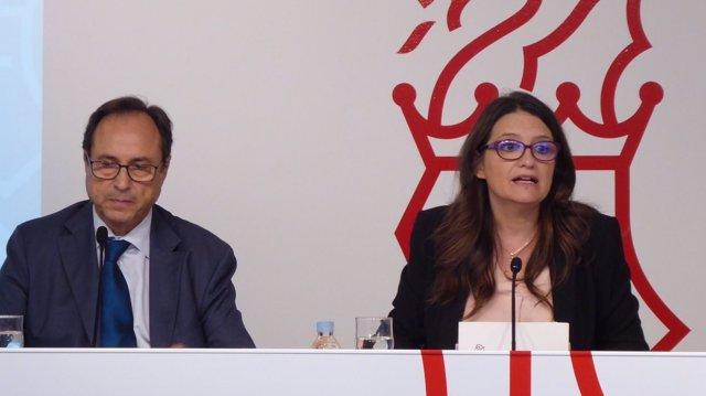 Soler y Oltra presentan la ley de acompañamiento