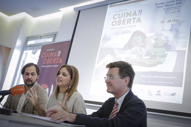 Presentación de la 19 edición de València Cuina Oberta