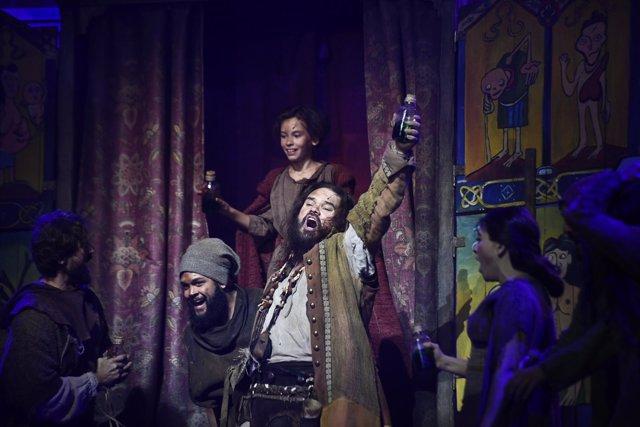 Pase gráfico para el musical de El médico en Teatro Nuevo Apolo de Madrid