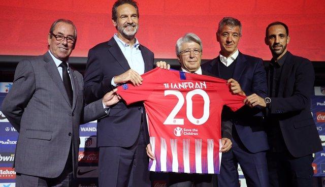 Adelardo, Andrés Conde, Cerezo, Gil Marín y Juanfran Torres