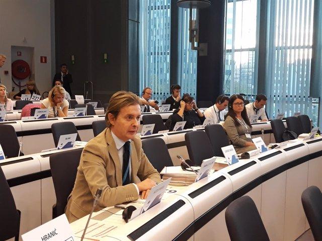 Gamallo en el pleno del Comité Europeo de las Regiones