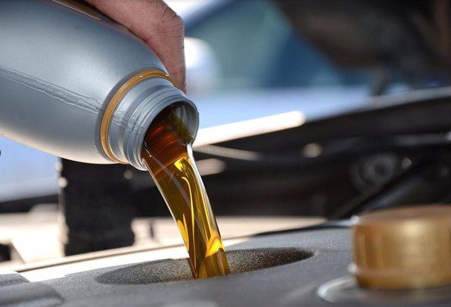 Llenado de aceite
