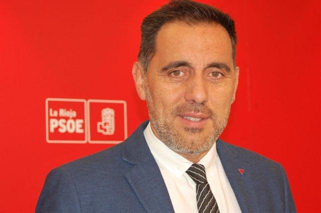 Jesús Mari García, diputado PSOE La Rioja