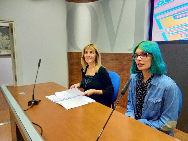 Marisa Ponga y Janni Rozada