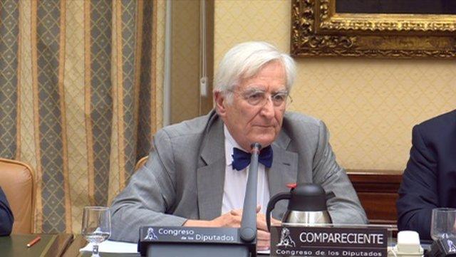 Jaime Tamarit, experto en ERTMS, en la comisión de Angrois
