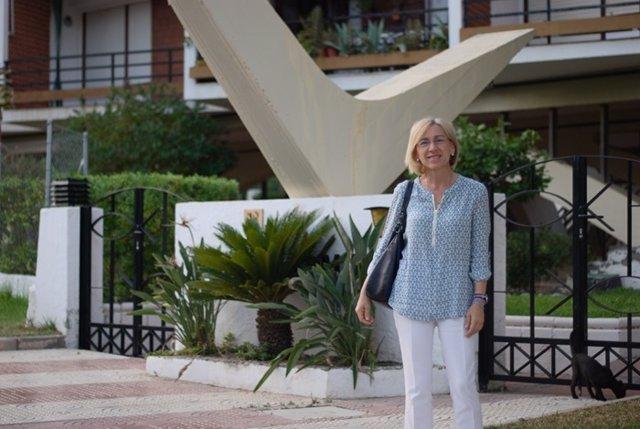 La edil de Roquetas María José López Carmona