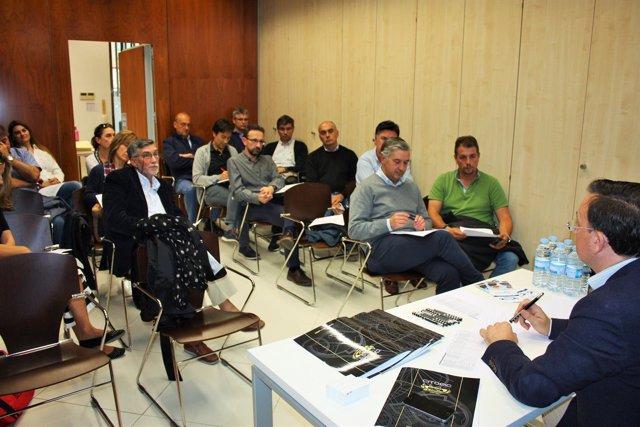 Reunión del Colegio de Ingenieros Civiles de CyL, 10-10-18