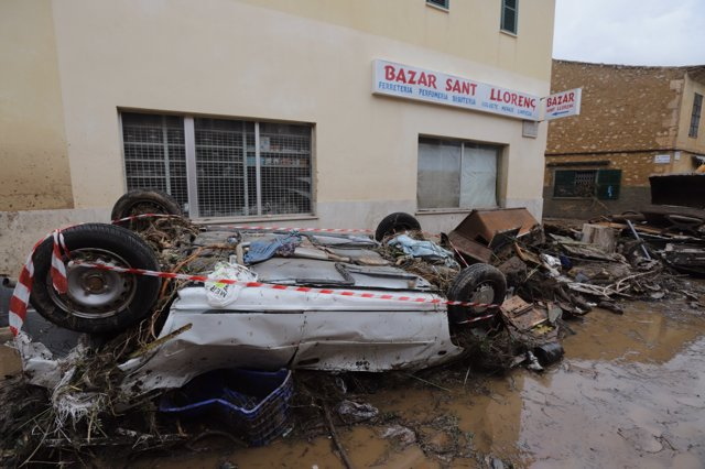 PP solicita conocer qué actuaciones ha realizado el Gobierno central por la torrentada en Sant Llorenç