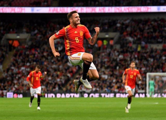 El centrocampista de la selección española Saúl Ñíguez