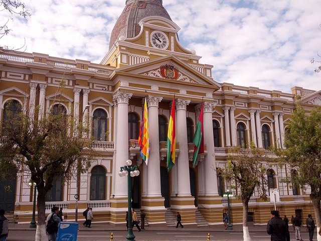 Asamblea Legislativa en La Paz, Bolivia