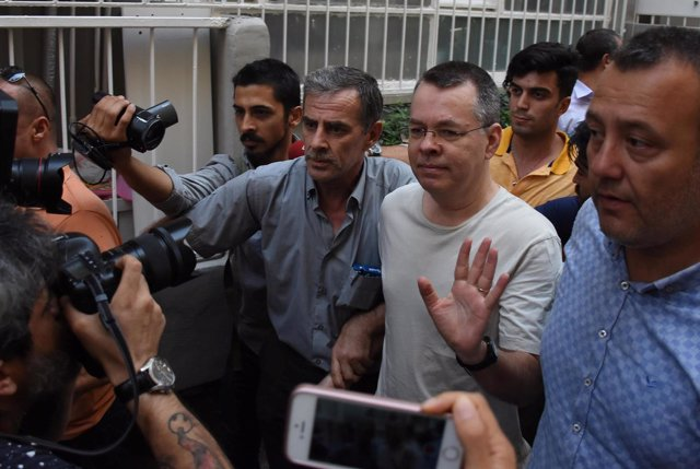 Andrew Brunson, estadounidense detenido en Turquía