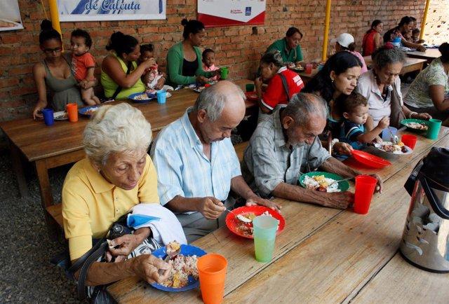 Inmigrantes venezolanos en Colombia