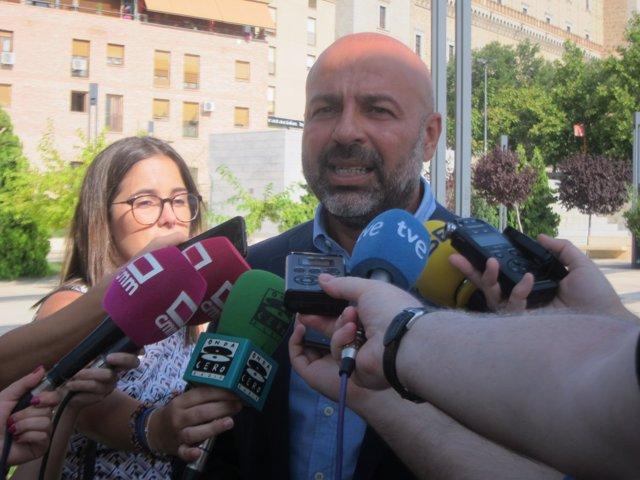 Secretario regional de Podemos, José García Molina