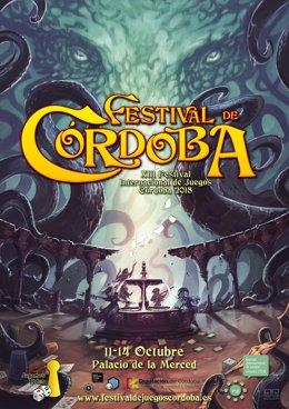 Cartel del Festival Internacional de Juegos de Córdoba