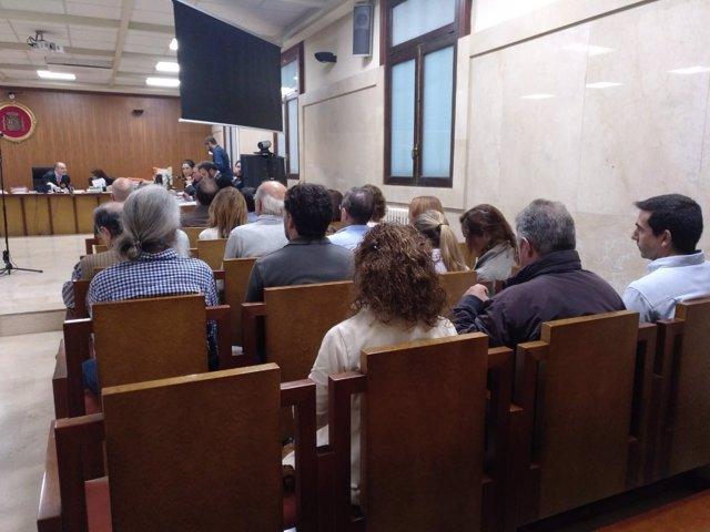 Los controladores aéreos en el último día de juicio en Baleares