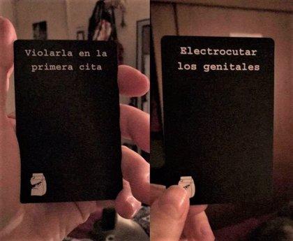 """Mensajes como """"violarla en la primera cita"""" forman parte de, 'Mala Leche', el juego de cartas de moda en Chile"""