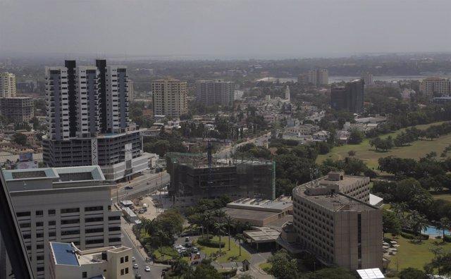 Vista general de Dar es Salam