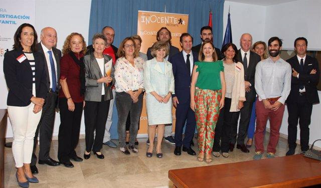 Entrega de la financiación al grupo de investigación del IIS Aragón