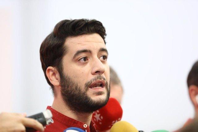 El portavoz adjunto de Ciudadanos en la Asamblea, César Zafra