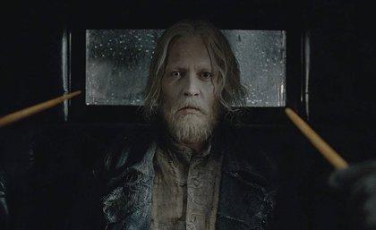 Johnny Depp volverá como Grindelwald en Animales Fantásticos 3