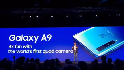 Presentación de Samsung Galaxy A9 en Milán (Italia)