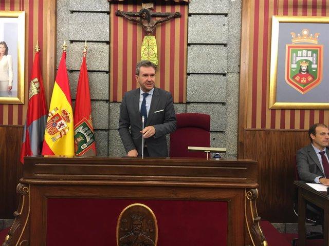 El alcalde de Burgos, Javier Lacalle.