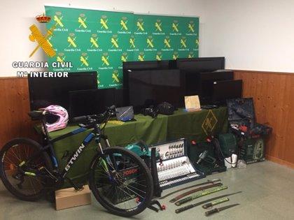 Detenido por la autoría de once robos en viviendas de Boecillo