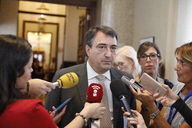 Rueda de prensa de los Portavoces del Congreso de los Diputados