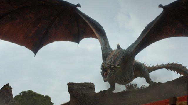 Drogon en Juego de tronos