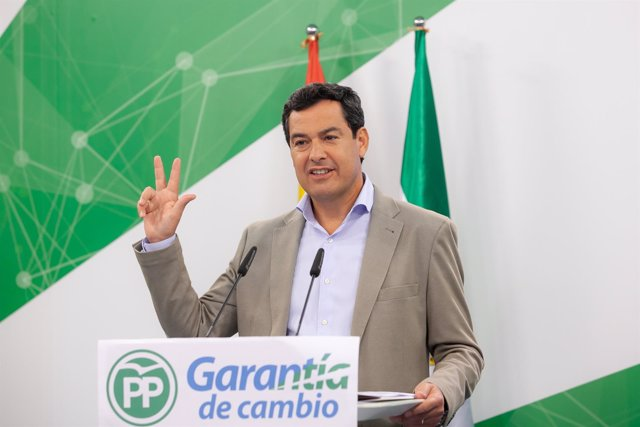 Juanma Moreno, hoy en rueda de prensa