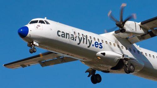 Avión de Canaryfly