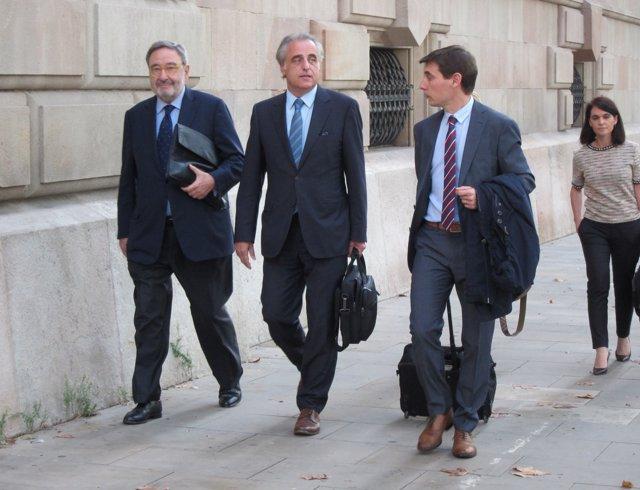 L'expresident de Caixa Catalunya Narcís Serra