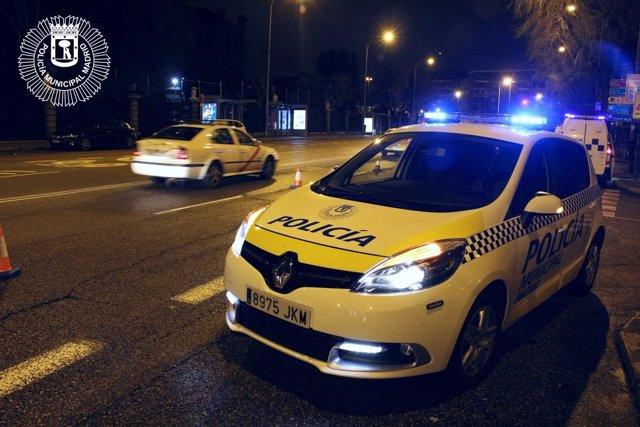Patrulla de la Policía Municipal de Madrid