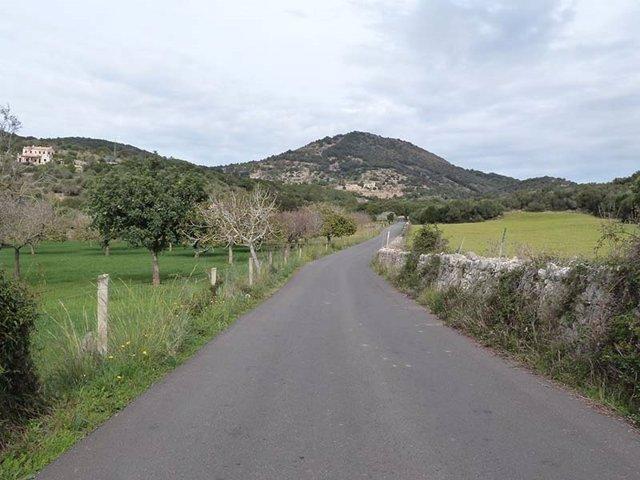 Foto de archivo de una zona rural de Mallorca