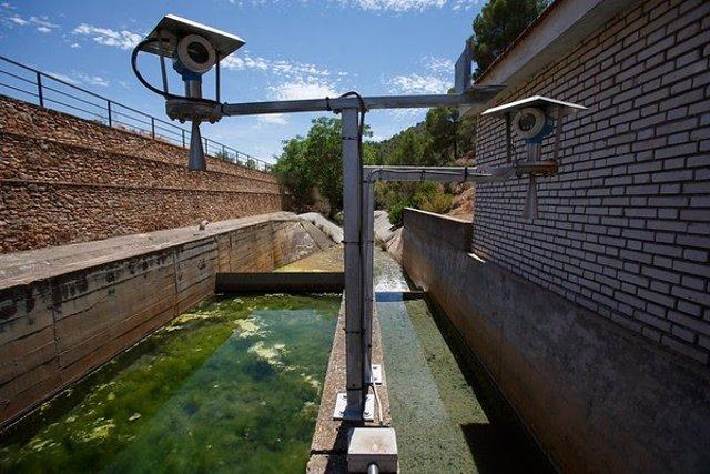 Cauce de agua en Mallroca