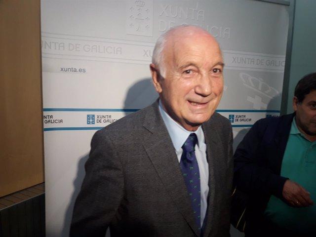 O portavoz da CEG, Antonio Fontenla