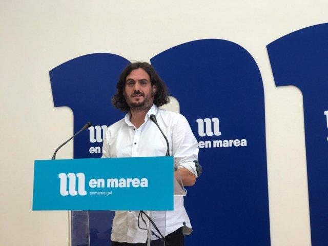 Antón Sánchez, viceportavoz de En Marea