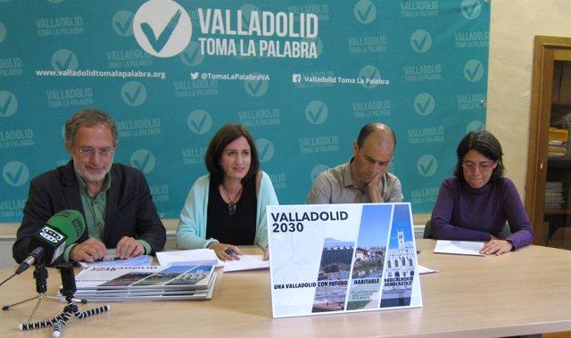 Presentación del proceso 'Valladolid 2030' de Valladolid Toma la Palabra. 11-10