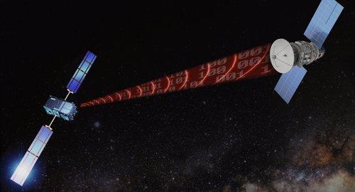 Transmisión de datos en el espacio