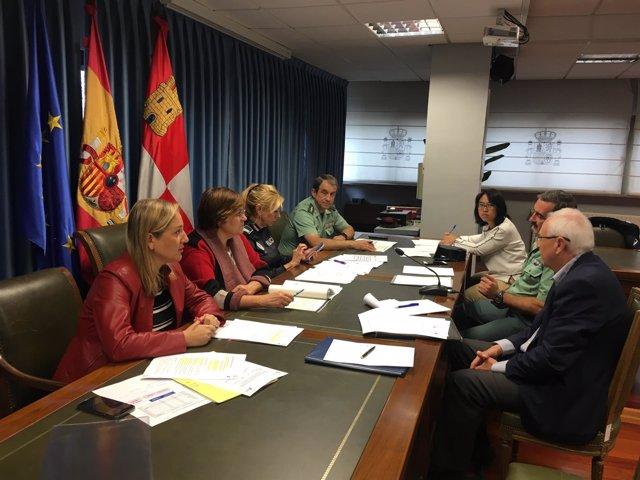 Valladolid.- Reunión de la Comisión Provincial de Tráfico