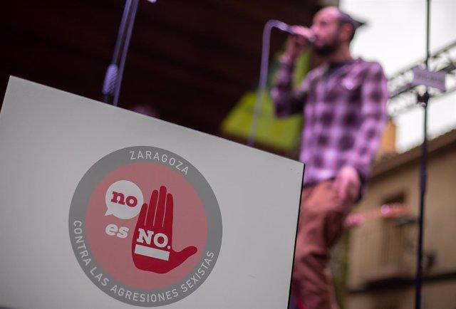 Cartel de la campaña 'No es no'.